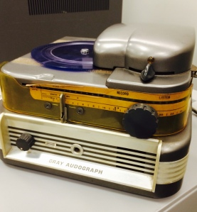 Gray Audograph (circa 1950's) from the Daniel K. Inouye Congressional Collection.