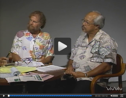 First Friday : The Unauthorized News : Waiāhole Water (September 1994). Kamakakūokalani Center for Hawaiian Studies subcollection