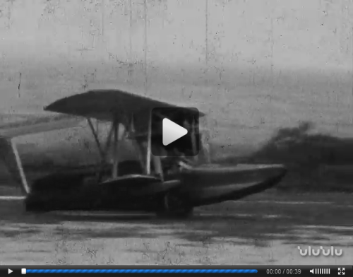 Inter-Island Airways Plane and Sculling (Lyman Museum and Mission House)