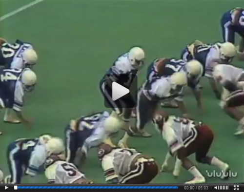 Miscellaneous Sports : Sidelines '82 Football Highlights, KGMB Collection