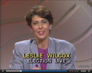 "Leslie Wilcox, television news journalist and anchor, currently President and CEO of PBS Hawaii and host of her own award winning series called ""Long Story Short"""
