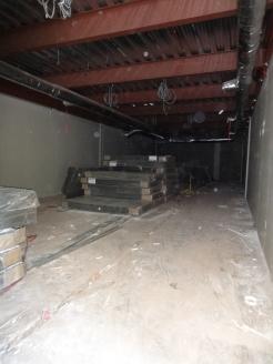 Vault under construction