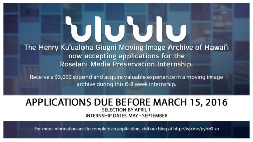 Roselani Internship 2016
