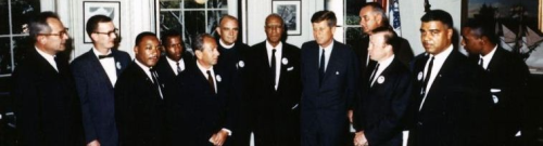 Photo Credit: http://www.jfklibrary.org/JFK/JFK-in-History/Civil-Rights-Movement.aspx